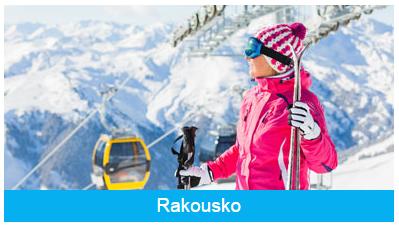 Rakouské Alpy - lyžování v Rakousku se skipasem